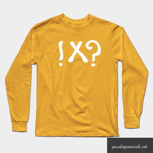 what meme t shirt pewdiepie long sleeve t shirt 8525 - PewDiePie Merch