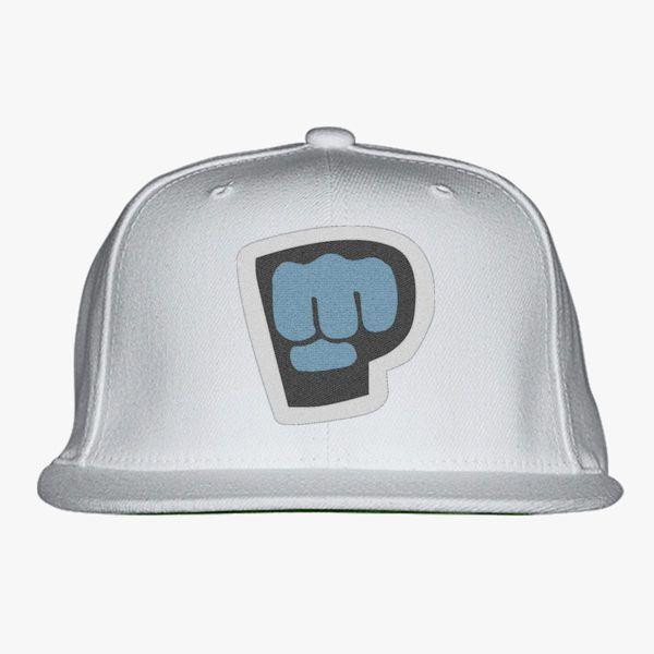 white maroon amp purple color pewdiepie smash logo snapback hat 1424 - PewDiePie Merch