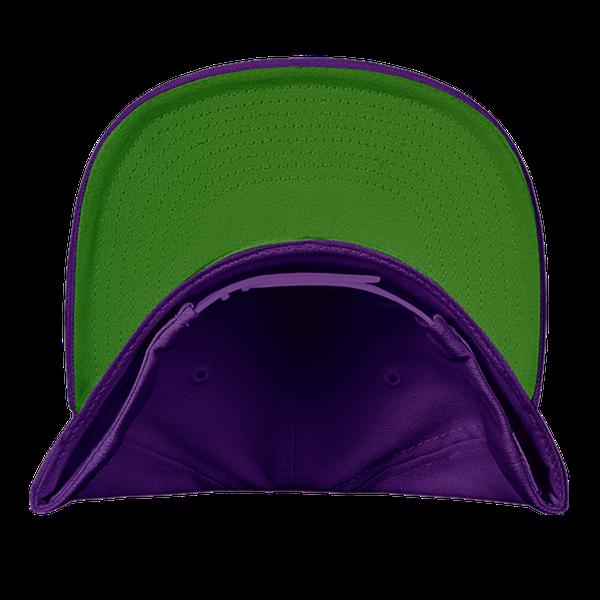 white maroon amp purple color pewdiepie smash logo snapback hat 5033 - PewDiePie Merch