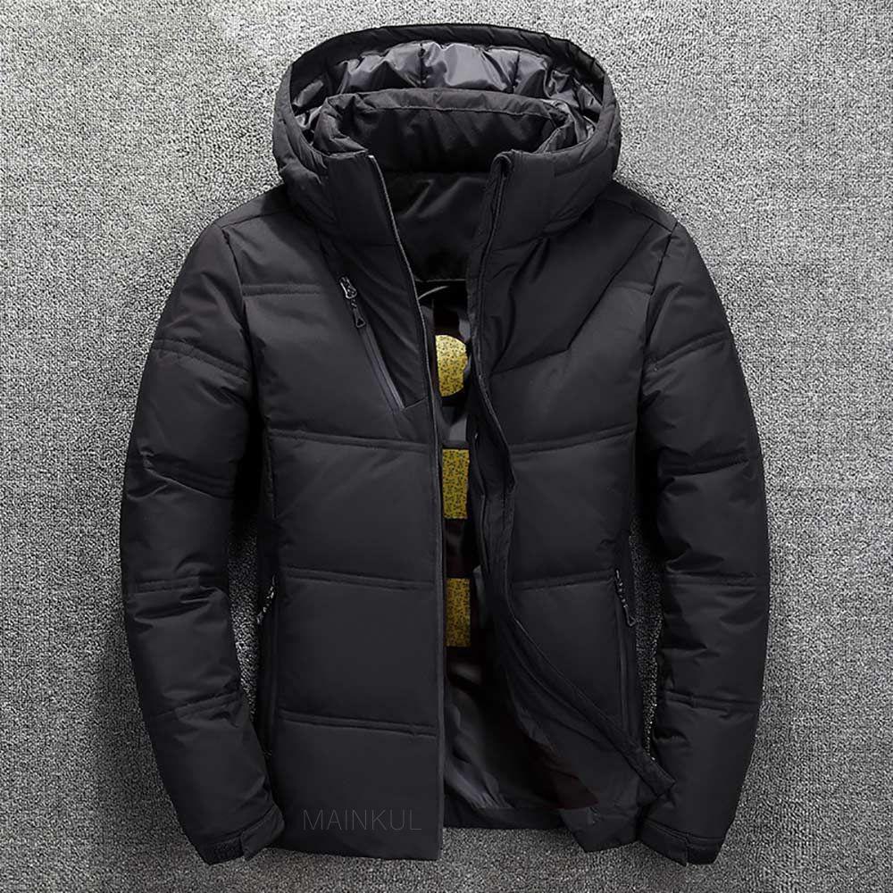 winter brand jacket men parka cotton padded casual streetwear coats male warm jackets solid color zipper 3429 - PewDiePie Merch