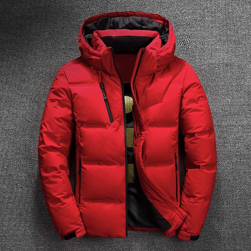 winter brand jacket men parka cotton padded casual streetwear coats male warm jackets solid color zipper 6329 - PewDiePie Merch